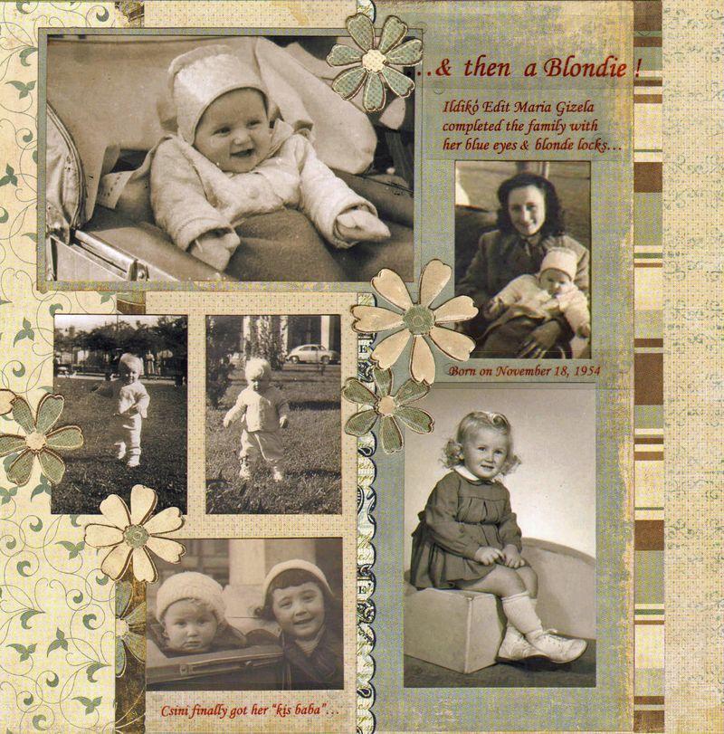 scrapbooking a heritage album