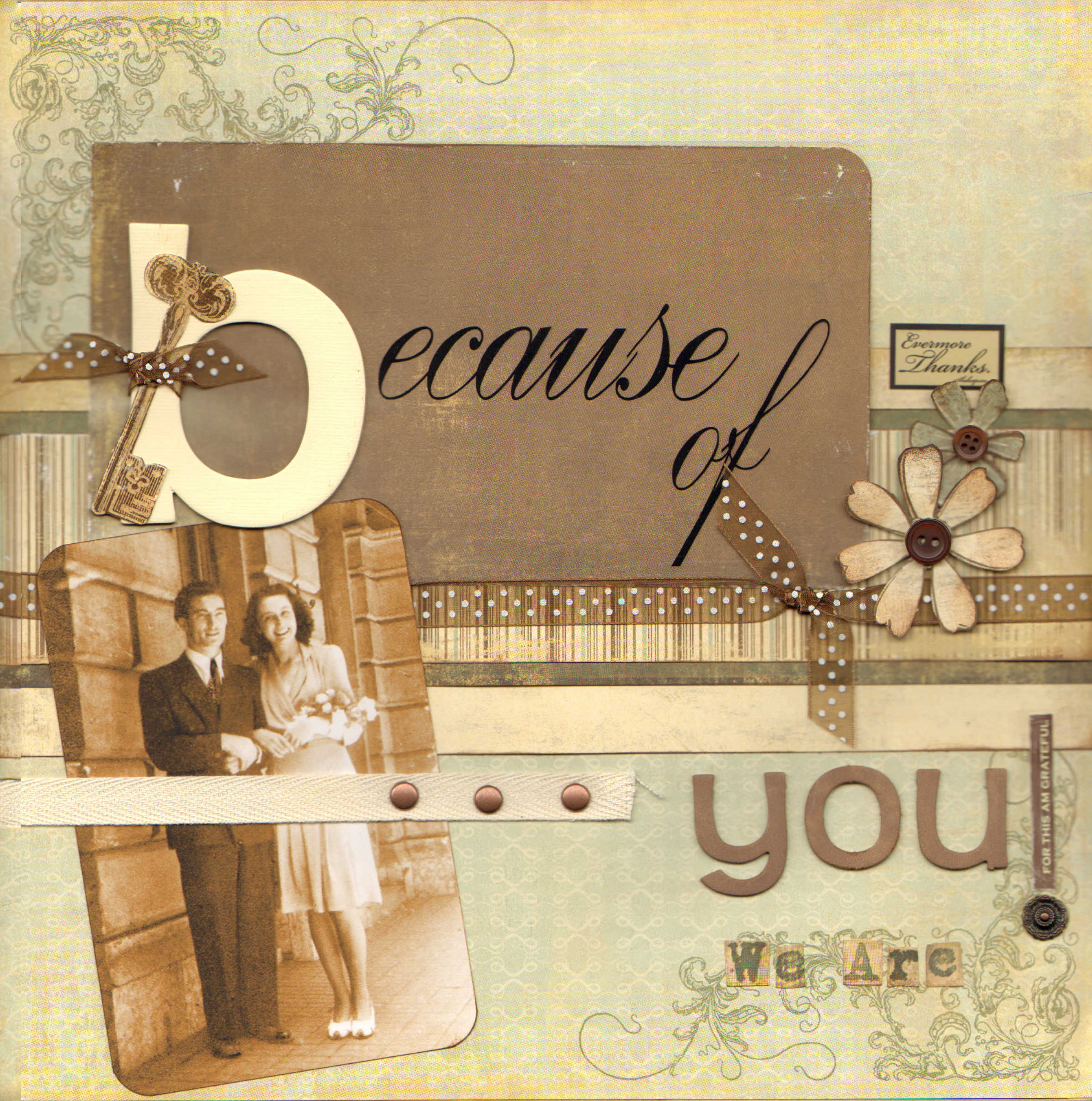 Scrapbook ideas newspaper articles - Scrapbook Layout