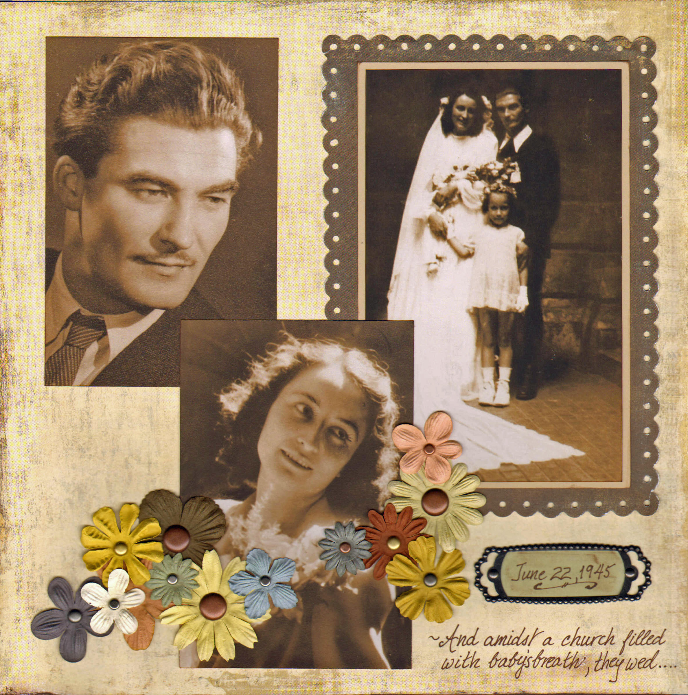 Scrapbook ideas heritage