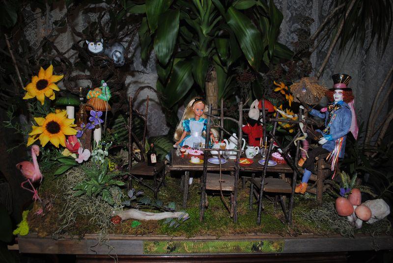Alice in Wonderland Tableu