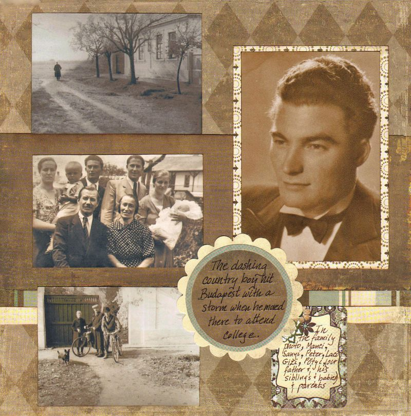 Family Album Layout