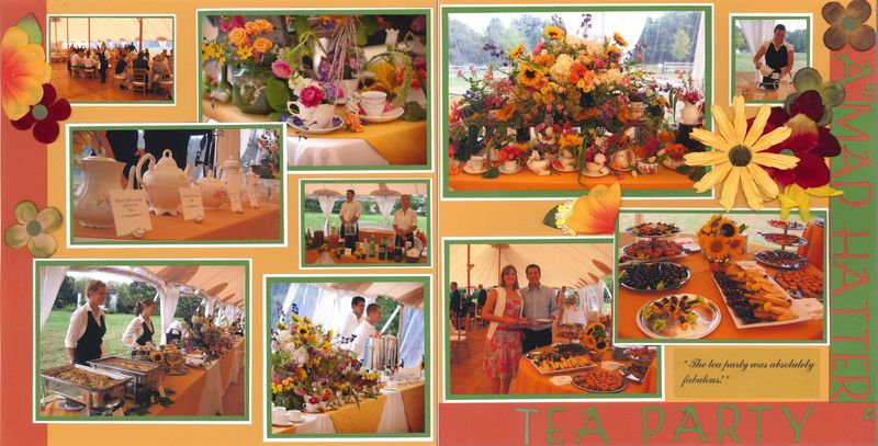 Mad Hatter Tea Party Dbl
