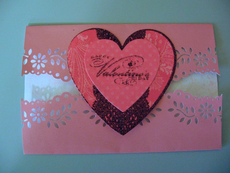 Pink Card Closed