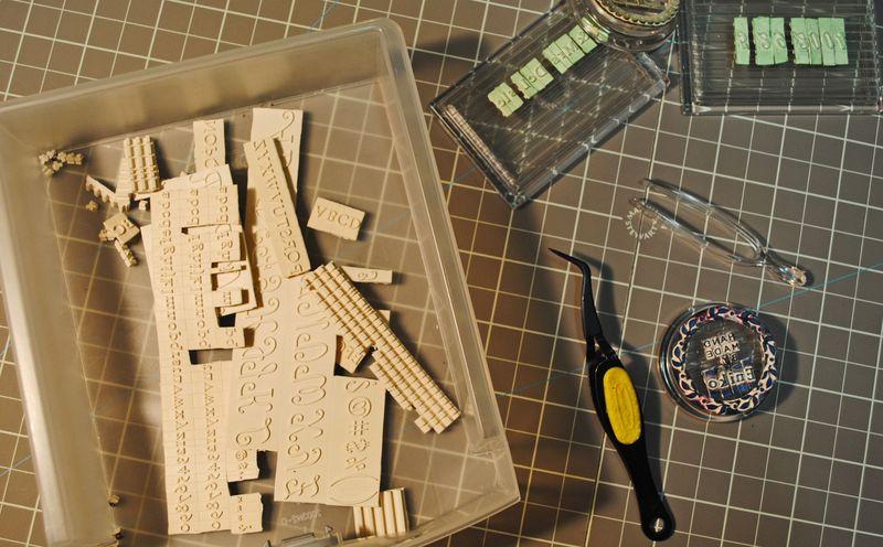 Martha Steward Stamp Kit