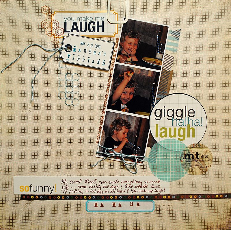 Scrapbooking layout Ormolu