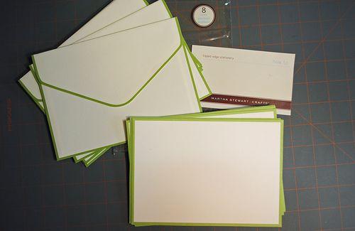 Martha Stewart cardmaking