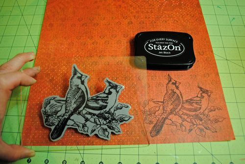 craft paper valentine card