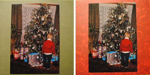 Christmas scrapbooking layouts
