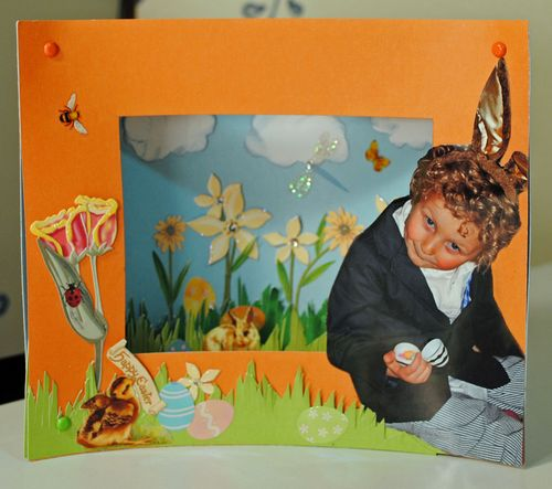 card-making, scrapbooking, 3-D cards, Easter cards