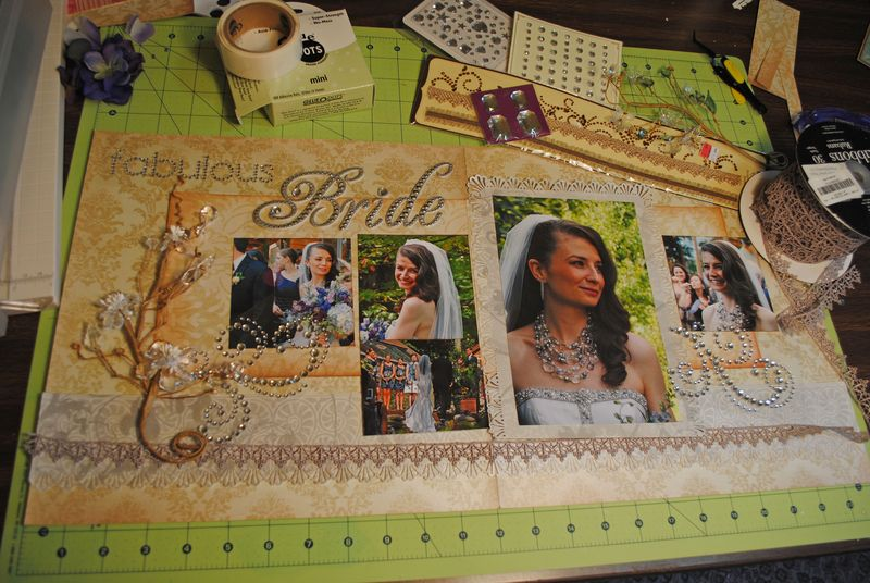 Scrapbook Page Assembly