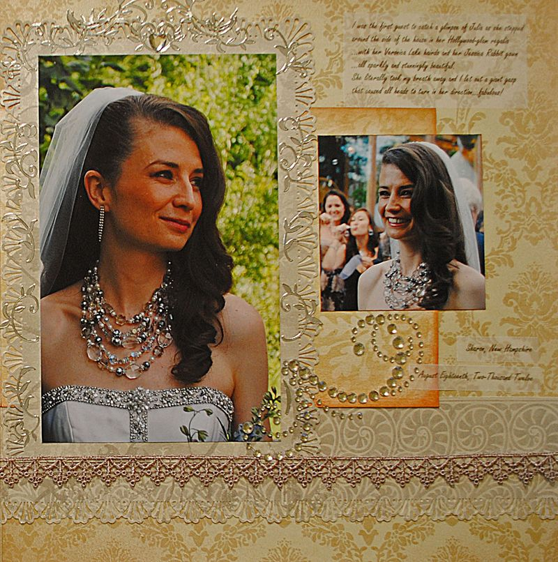 Wedding Layout detail r
