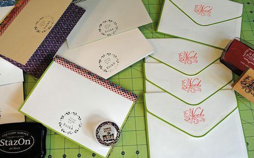 Stamping cardmaking Christmas
