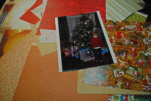 Christmas scrapbooking layouts