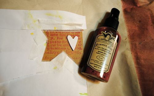 craft paper valentine card