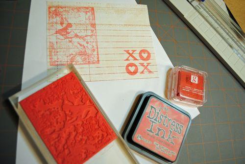 stamping inking cardmaking