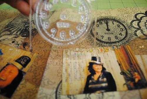 scrapbooking misting stamping