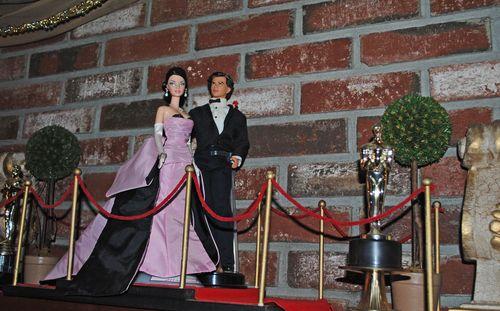 Barbie, scrapbooking, oscar party