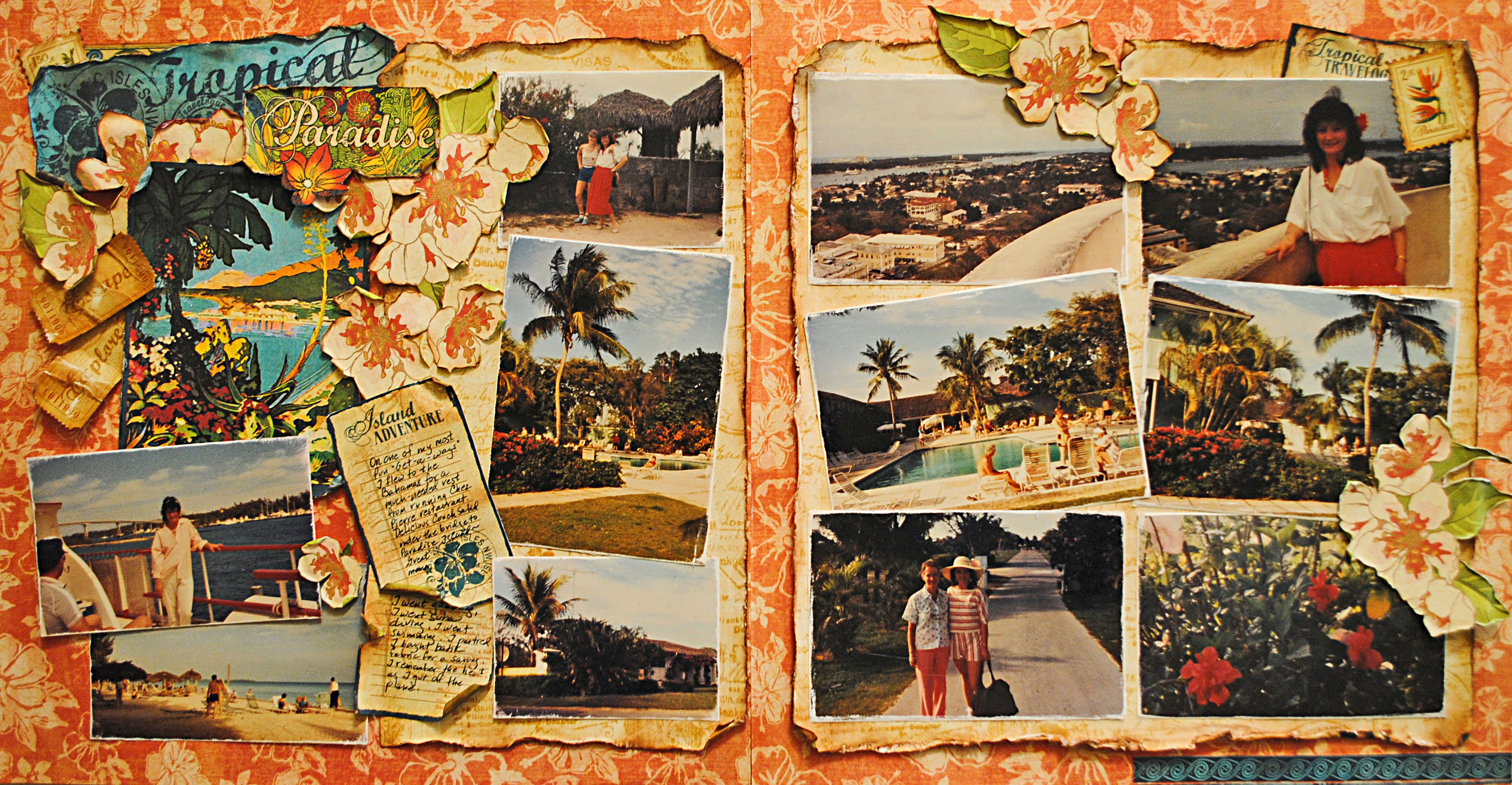 Scrapbook ideas adventure -  Scrapbooking Scrapbook Layout