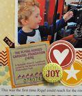 scrapbooking, children's layout, scrapbooking challenges
