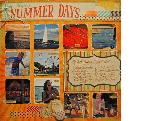 Summer Bucket List alt